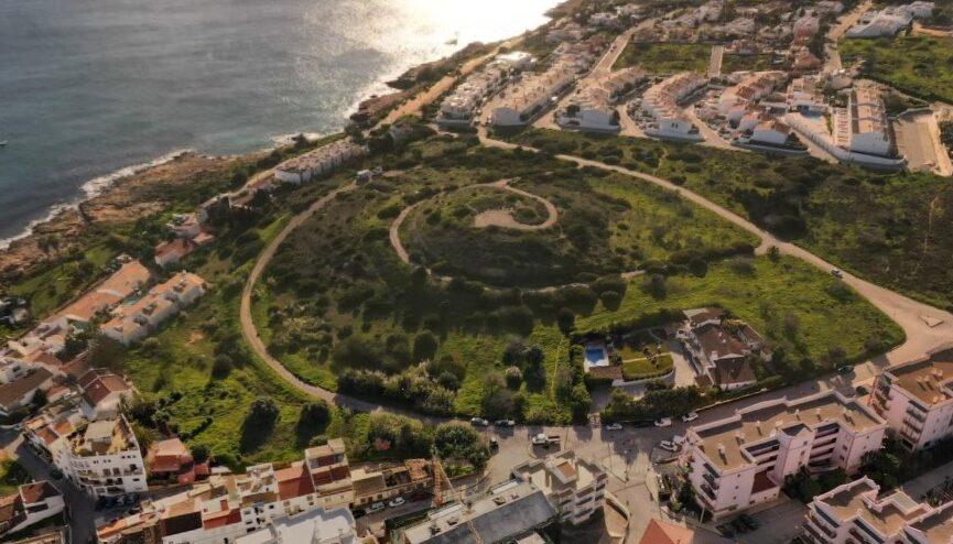 Miradouro Luz from above